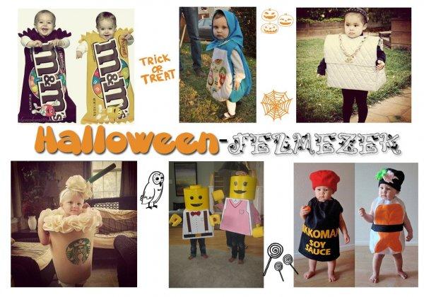 Halloween napi jelmezek gyerekeknek