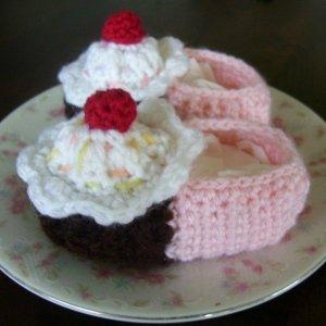 Muffinos babacipő