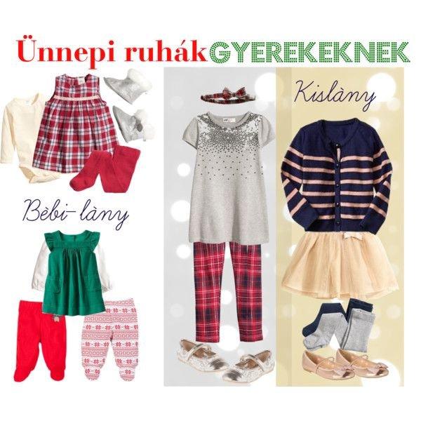 Ünnepi ruhák gyerekeknek