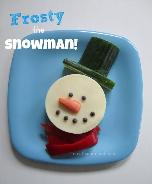 Karácsonyi szendvics kreatívan