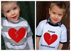 Szíves ruhák fiúknak