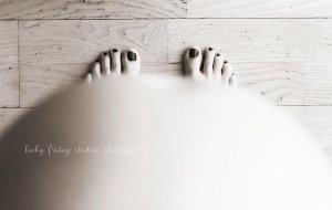Kismama lábfej