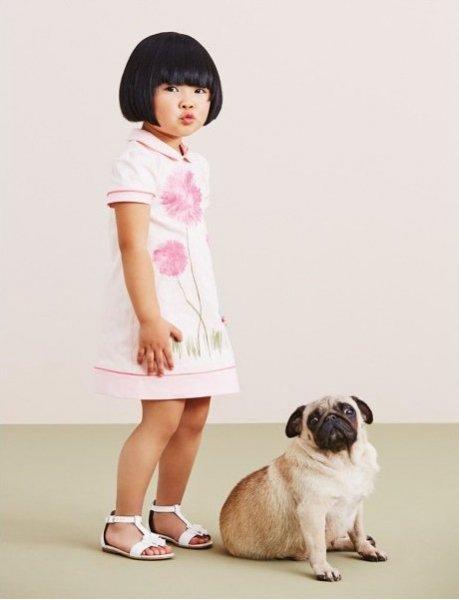 Virágos gyerekruhák a luxusmárkáktól