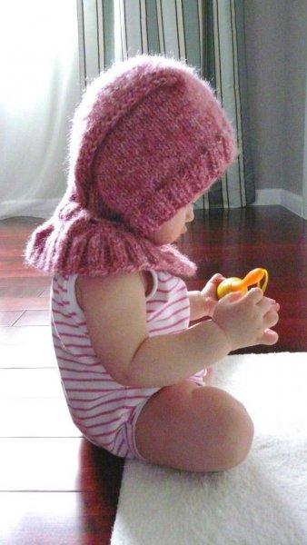 Téli sapka kisgyerekeknek
