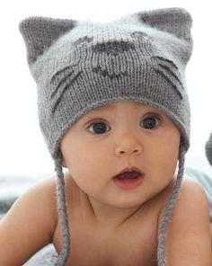 Téli sapka babáknak