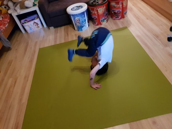 EKO játszószőnyeg - gyerekszoba szőnyeg játékhoz, tornához, mozgáshoz