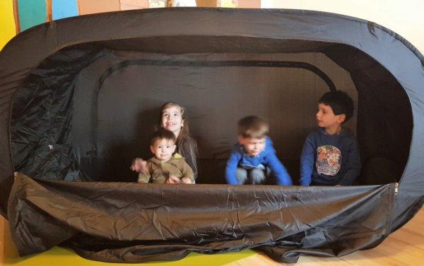 NookUp! sátor kisgyerekeknek